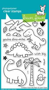Bilde av Lawn Fawn Critters from the Past Stamp Set