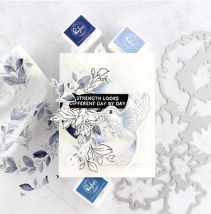 Bilde av Pinkfresh Studio Indigo Vines stamp set