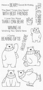 Bilde av MFT Polar Bear Pals stamp set