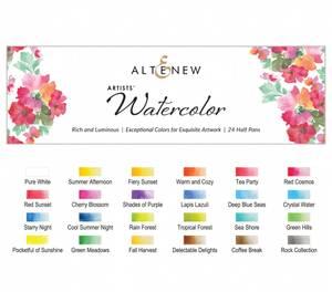 Bilde av Altenew Artists Watercolor 24 Pan Set