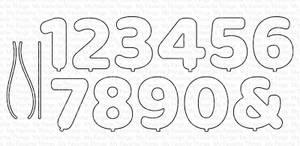 Bilde av MFT Pumped-Up Numbers dies
