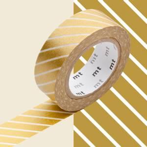 Bilde av mt Stripe Gold Washi Masking Tape