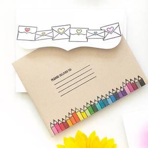 Bilde av Hero Arts + Ink Blot Shop Please Deliver stamp