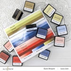 Bilde av Altenew Mini Ink Cube Label Decal Set - Mini
