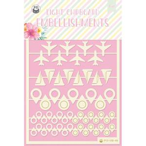 Bilde av P13 Light Chipboard Embellishments Summer Vibes