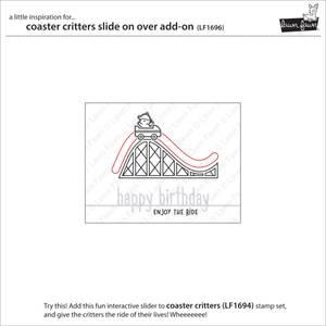 Bilde av Lawn Fawn Coaster Critters Slide on Over Add-on