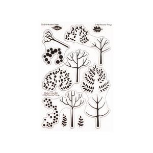 Bilde av MFT Modern Trees stamp set