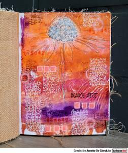 Bilde av Darkroom Door Abstract Stamp - Abstract 08