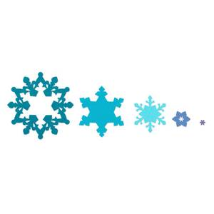 Bilde av Sizzix Framelits Snowflakes dies