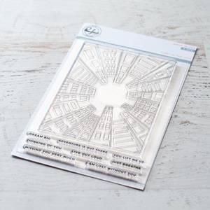 Bilde av Pinkfresh Studio Lost in the city stamp set