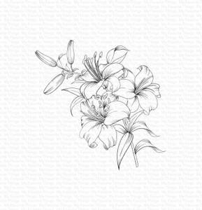 Bilde av MFT Lavish Lilies stamp