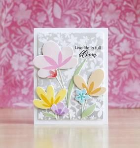 Bilde av Pinkfresh Studio Simple Blossoms stamp set