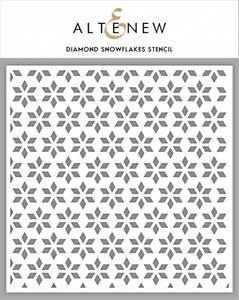 Bilde av Altenew Diamond Snowflakes Stencil