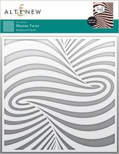 Bilde av Altenew Illusion Twist Stencil