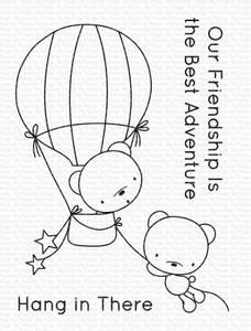 Bilde av MFT Best Adventure Bears stamp set