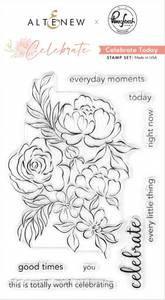 Bilde av Altenew + Pinkfresh Studio Celebrate Today Stamp