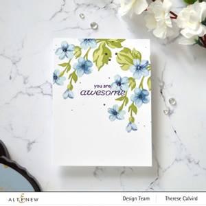 Bilde av Altenew Hill Blossoms Layering Stencil Set