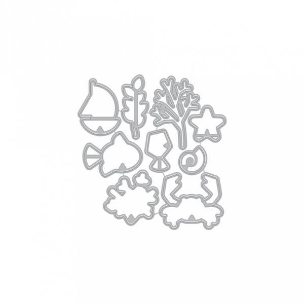 Hero Arts Graphic Reef Dies