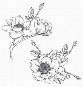 Bilde av MFT Magnolia Blossoms stamp