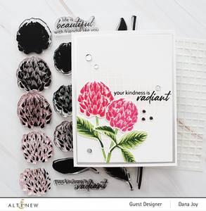 Bilde av Altenew Build-A-Flower: Clover Layering Stamp &