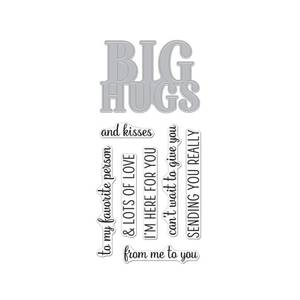 Bilde av Hero Arts Big Hugs Stamp & Cut