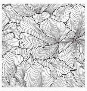 Bilde av MFT Floating Petals Background stamp