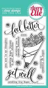 Bilde av Avery Elle Get Well Clear Stamps