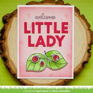 Bilde av Lawn Fawn Hey Lady Stamp Set