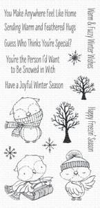 Bilde av MFT Warm & Feathered Hugs stamp set
