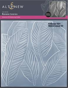 Bilde av Altenew Banana Leaves 3D Embossing Folder