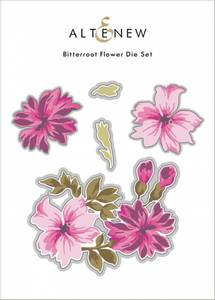 Bilde av Altenew Bitterroot Flower Die Set