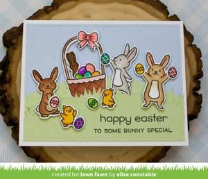 Bilde av Lawn Fawn Eggstra Amazing Easter Stamp Set