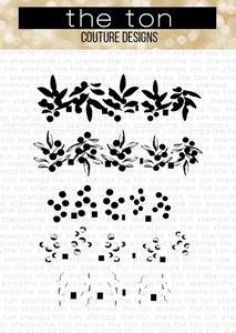 Bilde av The Ton Berry Bits stamp & die bundle
