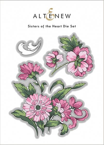 Altenew Sisters of the Heart Stamp Set