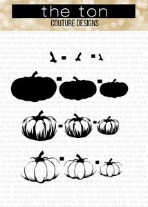 Bilde av The Ton Ella Pumpkins stamp & die bundle