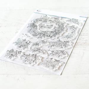 Bilde av Pinkfresh Studio Floral elements stamp set