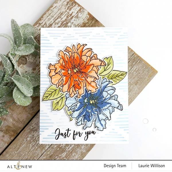 Altenew Build-A-Flower: Cora Louise Peony