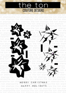 Bilde av The Ton Grouped Holiday Bows stamp & die bundle