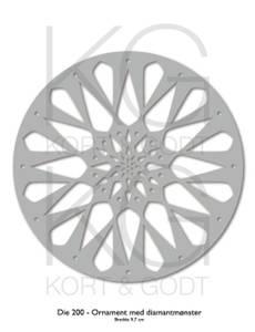 Bilde av Kort og Godt Die 200 - Ornament med