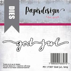 Bilde av Papirdesign God Jul, lang dies