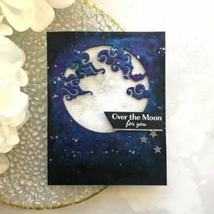 Bilde av Hero Arts Cloudy Moon Fancy Die
