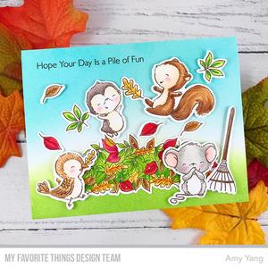Bilde av MFT Pile of Fun stamp set