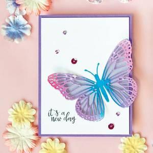 Bilde av Hero Arts Monarch Butterfly Fancy Dies