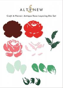 Bilde av Altenew Craft-A-Flower: Antique Rose