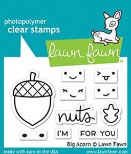 Bilde av Lawn Fawn Big Acorn Stamp Set