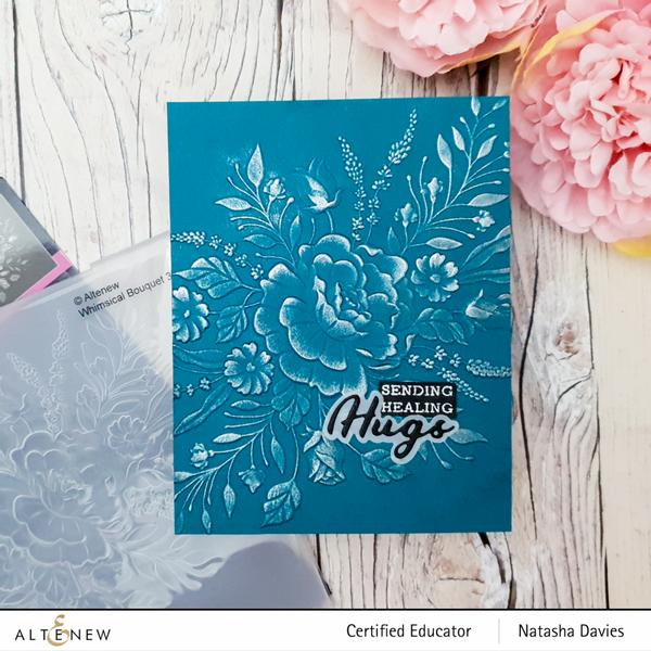 Altenew Whimsical Bouquet 3D Embossing Folder