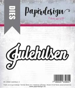 Bilde av Papirdesign Julehilsen 3 dies