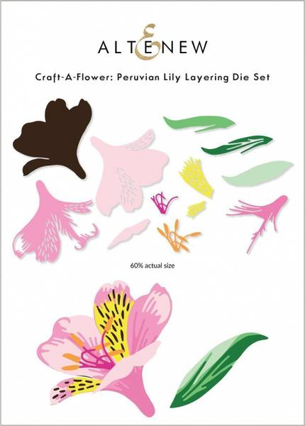Altenew Craft-A-Flower: Peruvian Lily