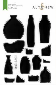 Bilde av Altenew Mod Vases Mask Stencil
