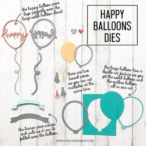 Bilde av Concord & 9th Happy Balloons Dies
